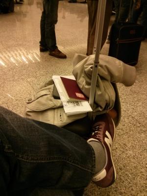Els meus peus (entre d'altres) a Son Santjoan