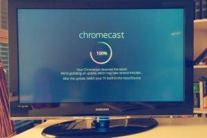 Primers minuts del Chromecast