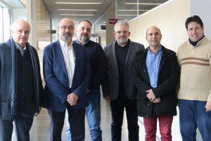Tomeu Serra, Jordi Cirera, Jordi Llabrés, Benjamí Villoslada, Tomeu Tugores, Tomeu Alorda