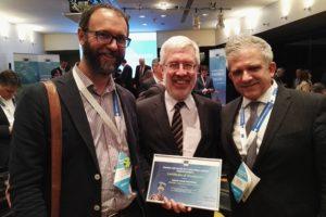 Amb Mário Campolargo, el Director general adjunt d'informàtica de la Comissió europea