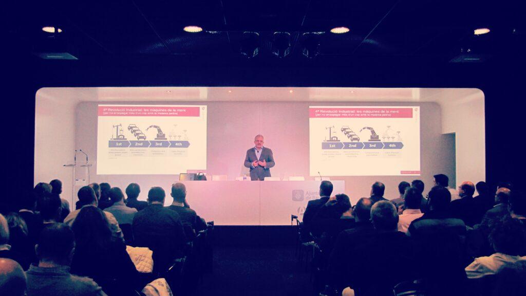 Conferència pel IMI de Barcelona, novembre de 2017