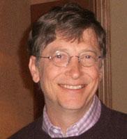Bill Gates a Madrid