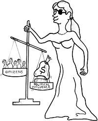 Justícia cega... massa i tot, qualque pic