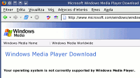 Plana de descàrrega del Windows Media Player
