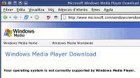 Plana de descàrrega del Windows Media Player