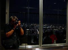 reflectit a vidres dalt de l'Empire State