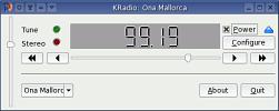 Ona Mallorca al KRadio