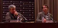 Vicent Partal i Benjamí Villoslada - Fundació La Caixa, Palma, 28-04-2005