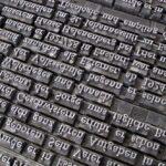 Metal typesetting
