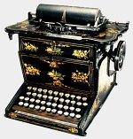Màquina d'escriure Sholes & Glidden, 1874